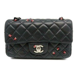 🐞CHANEL Classic Mini Rectangular Ladybug Flap Bag